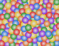 Ball Pit. A rendering of a ball pit, like the one's that kids play in Stock Image