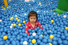 Ball pit Stock Photo