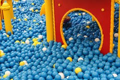 Ball pit Royalty Free Stock Images