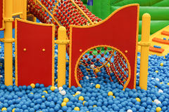 Ball pit. For kids / Indoor playground Royalty Free Stock Photos