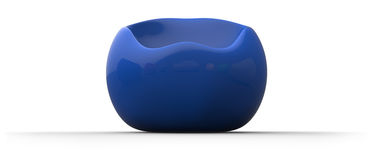 Ball plastic chair Royalty Free Stock Photo