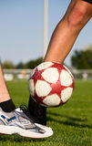 Ball in Play Stock Image