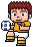 ball player soccer Стоковые Фотографии RF