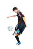 ball player soccer 库存图片