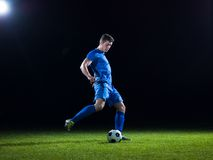 ball player soccer Стоковая Фотография RF
