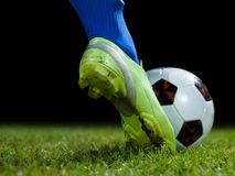 ball player soccer Стоковое фото RF