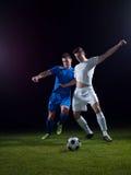 ball player soccer 免版税库存图片