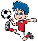 ball player soccer иллюстрация вектора