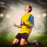 ball player soccer 图库摄影