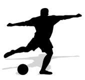 ball player soccer 库存照片