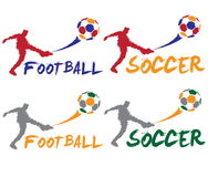 ball player soccer 图库摄影