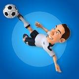 ball player soccer 库存照片