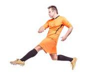 ball player soccer 免版税库存照片