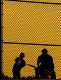 Ball players abstract
