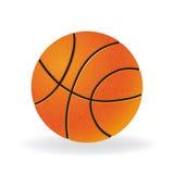 Ball for playing basketball game Stock Photos