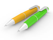 Ball point pen Stock Images