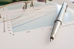 Ball point pen Royalty Free Stock Image