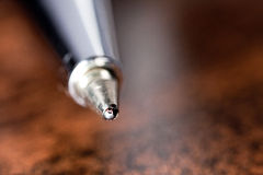 Ball-Point Pen Close-up Stock Image