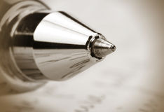 Ball point pen Royalty Free Stock Photography