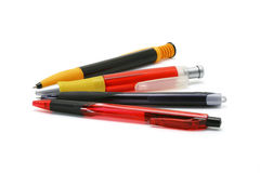 Ball point pens Stock Photo
