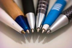 Ball point pens Stock Photo
