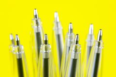 Ball Point Pens Stock Photography