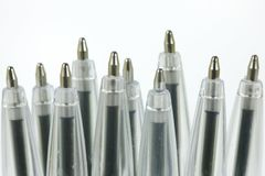 Ball Point Pens Royalty Free Stock Photography