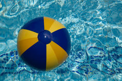 Ball in the pool Stock Image