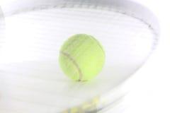 Ball and racket Stock Photos