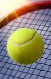 Ball and Racket Stock Image