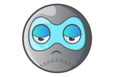 Ball Robot Sad. Stock Photos
