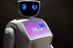 Ball of Robots Royalty Free Stock Photos