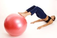 Ball Rollout 1 Royalty Free Stock Images