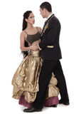Ball room dancing couple Stock Image
