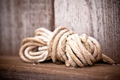 Ball of rope Stock Images