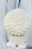 Ball of roses as decoration Royalty Free Stock Image