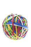 A Ball of Rubber Bands Royalty Free Stock Photo