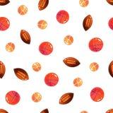 Ball seamless pattern. Vector sport background Stock Photos