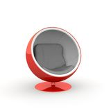 Ball seat red Stock Photo