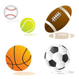 Ball set Stock Photo