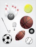 Ball set Royalty Free Stock Photo