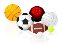 Ball set Royalty Free Stock Photos