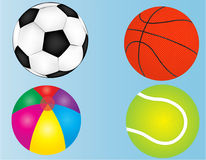 Ball set royalty free illustration