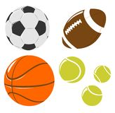 Ball set Royalty Free Stock Images