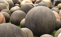 Ball Shaped Stones Royalty Free Stock Images