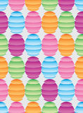 Ball slice folding colorful seamless pattern Royalty Free Stock Images