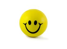 Ball smile Royalty Free Stock Photo