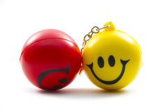 Ball with smile Stock Photography