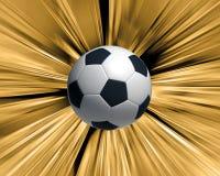 ball soccer Στοκ εικόνα με δικαίωμα ελεύθερης χρήσης