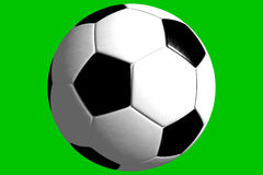 Ball - Soccer (3D) Stock Image